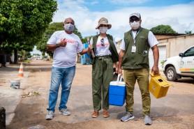"""Saúde - """"Varredura"""" vacinal contra o sarampo inicia nesta terça-feira, 14, em Boa Vista"""