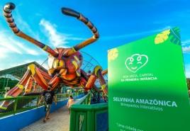 Selvinha Amazônica contribui para o desenvolvimento de crianças em Boa Vista