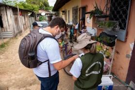 """""""Varredura"""" contra o sarampo - Prefeitura pede que a população receba as equipes que estarão devidamente identificadas"""