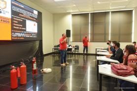 CAPACITAÇÃO - Servidores da Fetec participam de Curso de Brigadistas de Incêndio