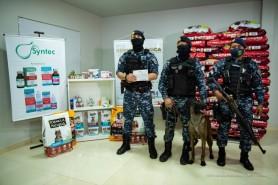 PRATO CHEIO - Canil da Guarda Municipal recebe doação de projeto voltado a animais