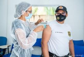 Contra o coronavírus: Prefeitura começa vacinação de policiais penais na segunda-feira, 17