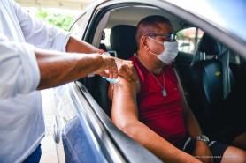 Pessoas com comorbidades de 57 a 55 anos de idade serão vacinadas contra a covid-19 a partir desta segunda-feira, 10